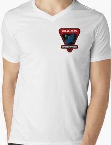 Star Trek - MACO Enterprise Mens V-Neck T-Shirt