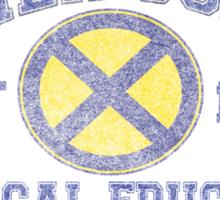 Xavier Gym Uniform T Sticker