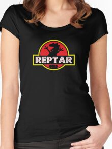 Jurassic Reptar! Women's Fitted Scoop T-Shirt