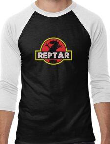 Jurassic Reptar! Men's Baseball ¾ T-Shirt