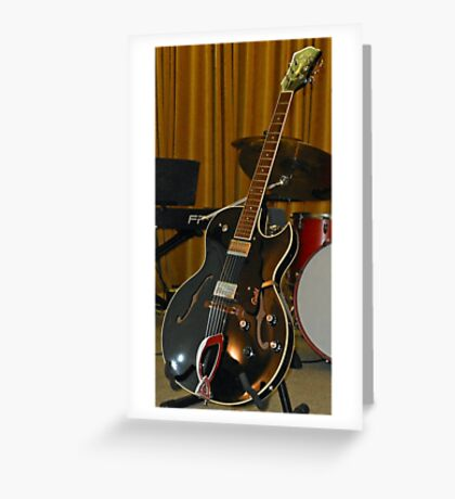 Guild Electric Guitar Greeting Card