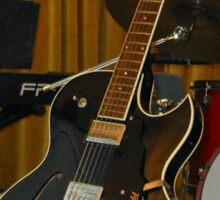 Guild Electric Guitar Sticker