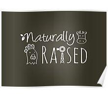 Naturally Raised Animals Poster