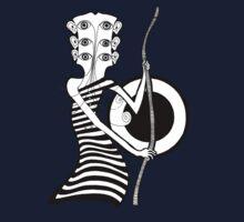 Guitar Head Banjo Player by juliethebruce