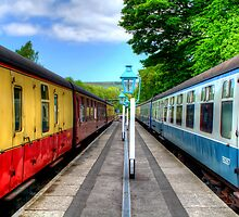 Grosmont Railway Station - North Yorkshire by English Landscape Prints