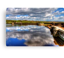 Hury Reservoir - County Durham Canvas Print