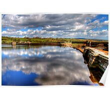 Hury Reservoir - County Durham Poster