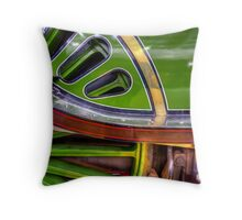 Wheel Housing Throw Pillow