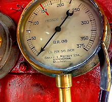 Pressure Gauge by English Landscape Prints