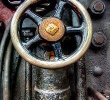Steam Engine Wheel by Stephen Smith