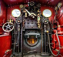 Steam Train Cockpit by Stephen Smith