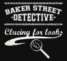 Baker Street Detective (White) Kids Clothes