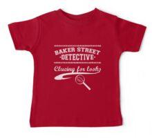Baker Street Detective (White) Baby Tee