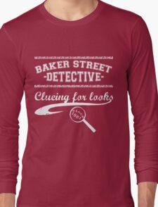 Baker Street Detective (White) Long Sleeve T-Shirt