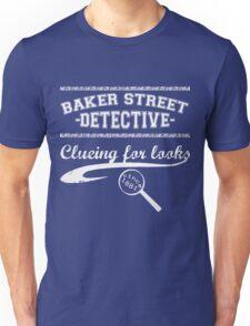 Baker Street Detective (White) Unisex T-Shirt