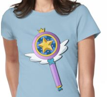 Star Butterfly's Wand Womens Fitted T-Shirt