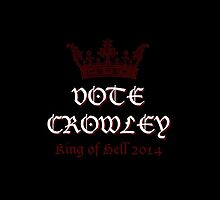 Vote Crowley by ChasingTheWind