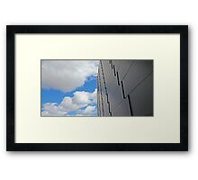 Sky Wall Framed Print