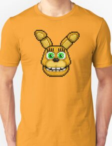 Adventure Spring Bonnie - FNAF World - Pixel Art Unisex T-Shirt