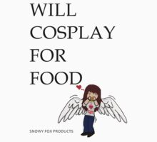 WILL COSPLAY FOR FOOD Kids Clothes