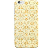 Vintage Patterned Wallpaper 06 iPhone Case/Skin