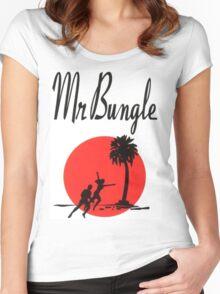 MR.BUNGLE CALIFORNIA SHIRT Women's Fitted Scoop T-Shirt