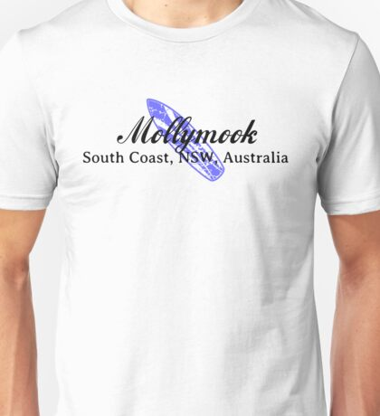 Surf Mollymook Unisex T-Shirt