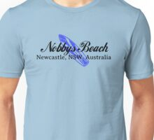 Surf Nobbys Beach Unisex T-Shirt