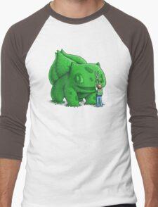 Plant type monster Men's Baseball ¾ T-Shirt