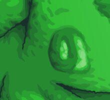 Plant type monster Sticker