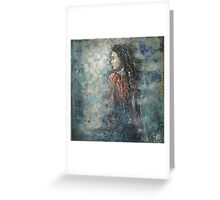 I gain the wind of my thoughts... Greeting Card