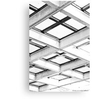 722013 - Abstract Structure Monochrome Canvas Print