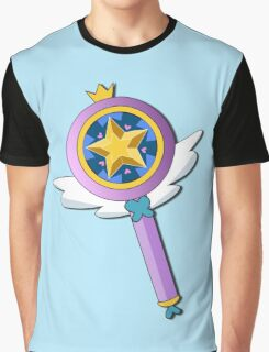 Star Butterfly's Wand Graphic T-Shirt