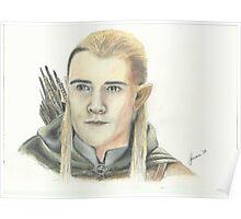 Orlando Bloom as Legolas Poster