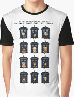 8-bit Doctor Who Graphic T-Shirt
