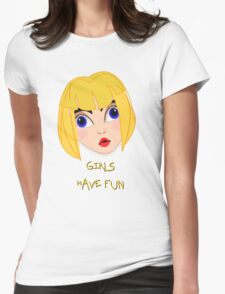 Girls Have Fun T-shirt 3 Womens Fitted T-Shirt