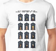 8-bit Doctor Who Unisex T-Shirt
