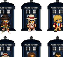 8-bit Doctor Who Sticker