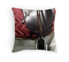 English Leather  Throw Pillow