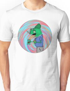 tweeked out lizard  Unisex T-Shirt