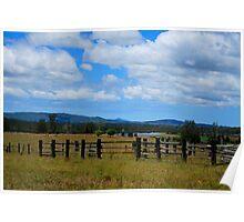 A farm at Tullymorgan  Poster