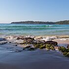 Beach, Surf, Rocks 3 by diggle