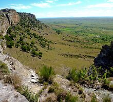 Central  sand stone escarpment  -  Isalo -  Madagascar by john  Lenagan
