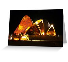 Sydney Opera House, Australia Greeting Card