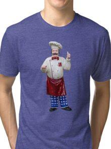 Plastic chef Tri-blend T-Shirt