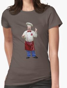 Plastic chef Womens Fitted T-Shirt
