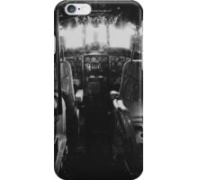 Vintage Airplane Cockpit iPhone Case/Skin