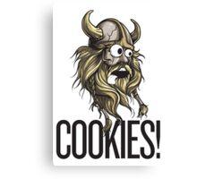 Cookies! - Viking Canvas Print