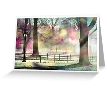 Central Park in Winter, NYC Greeting Card