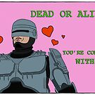 Your Move, Creep - Valentines Card by Edward B.G.